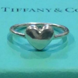 Tiffany & Co Paloma Picasso Puff Heart Ring